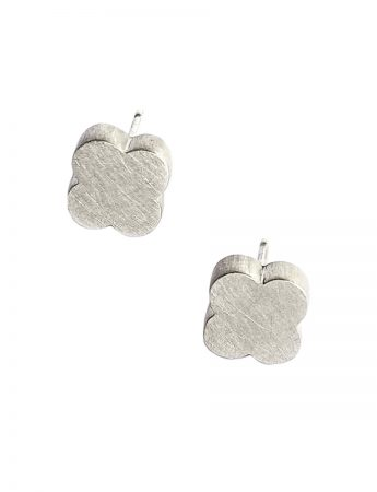 Reverence Stud Earrings - Silver