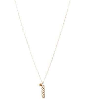 Beachcomber Norfolk Pine Double Pendant Necklace – Gold & Silver
