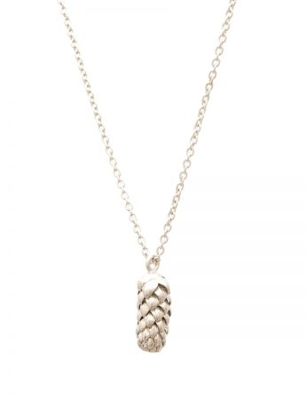 Beachcomber Norfolk Pine Single Pendant Necklace - Silver