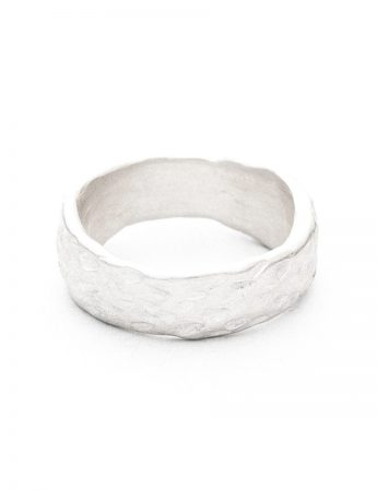 Beachcomber Norfolk Pine Texture Ring - Silver