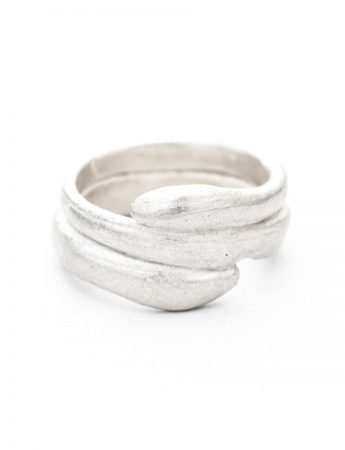 Beachcomber Tidal Embrace Ring - Silver