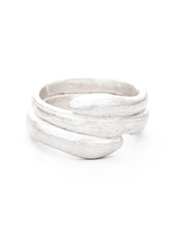 Beachcomber Tidal Embrace Ring – Silver