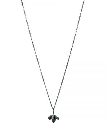 Bushwalker Flowering Gum Bud Necklace - Black