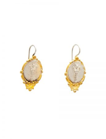 Divine Mojo Earrings - Silver & Gold