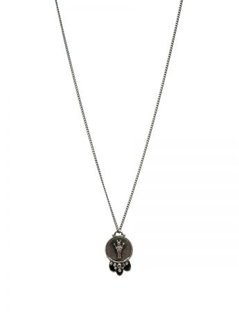 Divine Mojo Pendant Necklace – Black