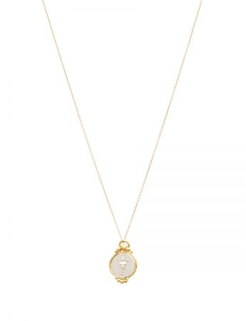 Divine Mojo Pendant Necklace - Silver & Gold