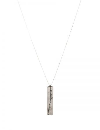 Grass Pendant Necklace - Sterling Silver