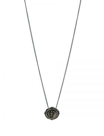 High Priestess Of Managing It All Pendant Necklace - Black