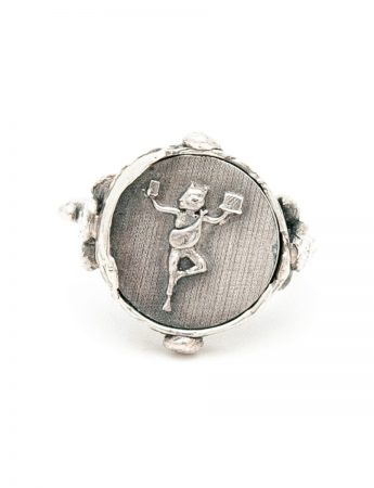 High Priestess Of Managing It All Ring - Silver