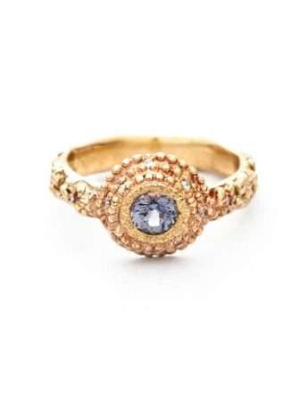 Twilight Ring – Gold with Spinel, Diamonds and Sapphires