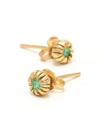 Bouquet Royale Earrings - Tourmaline