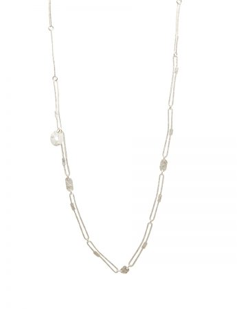 Chain Necklace - Silver & Gold Keum-Boo