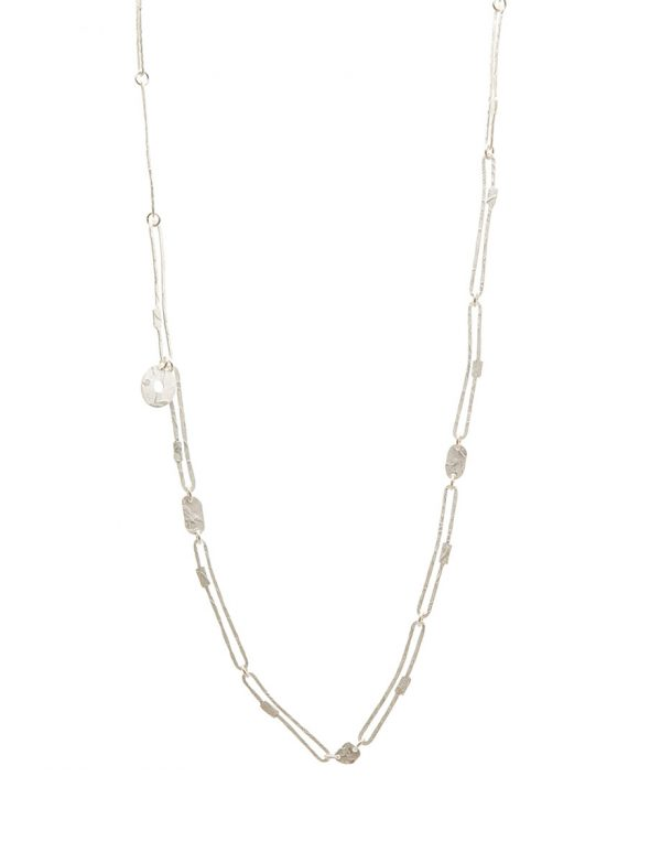 Chain Necklace – Silver & Gold Keum-Boo