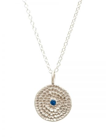 Continuum Necklace - Silver & Blue Sapphire