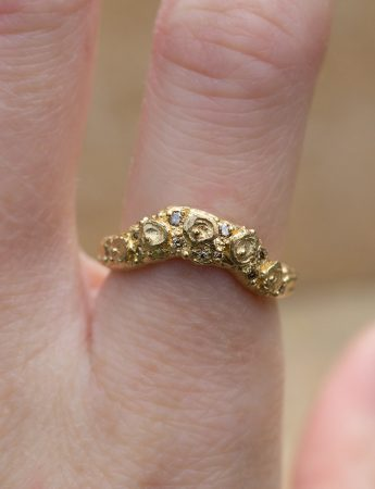 Granary Ring - Yellow Gold & Diamond