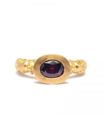 Kuphar Ring - Yellow Gold & Tourmaline