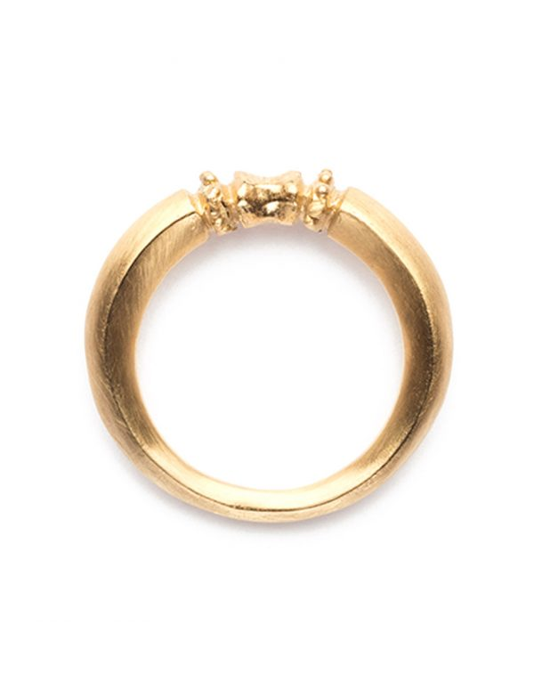 Seeded Ring – Yellow Gold