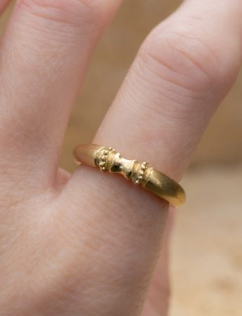 Seeded Ring - Yellow Gold