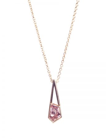 Agility Necklace - Lavender Zircon