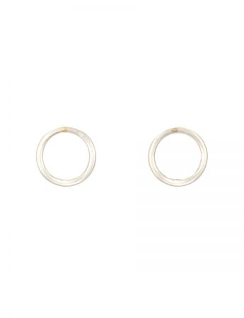 Anthem Stud Earrings - Silver & Gold