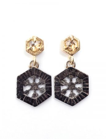 Summer Ice Diamond Earrings
