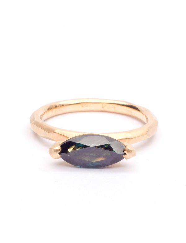 Marquise Cut Ring – Sapphire
