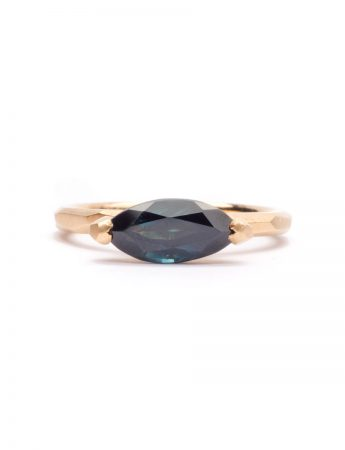 Marquise Cut Ring - Sapphire