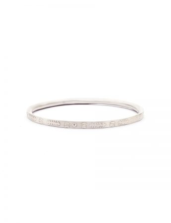 Once Upon A Time Bangle - Silver