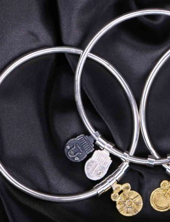 Offering Bangle with Nurturing & Protection Charms