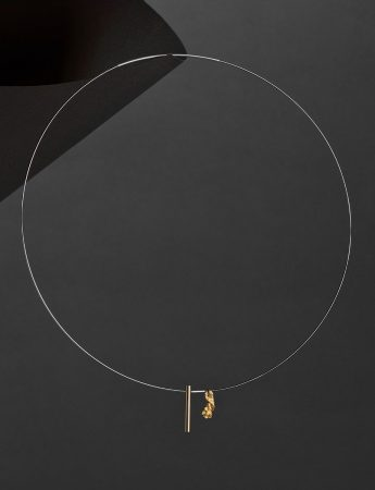 Raw / Refined Necklace – Gold