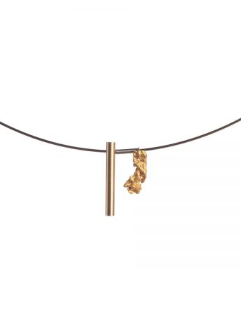 Raw / Refined Necklace - Gold