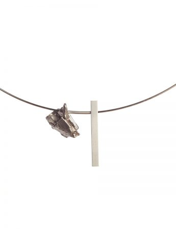 Raw / Refined Necklace - Iron