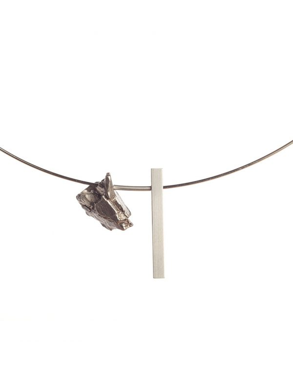 Raw / Refined Necklace – Iron