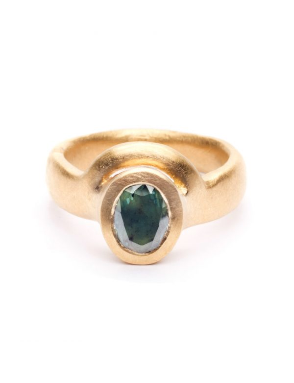 Mountain Meets the Sea Ring – Parti Sapphire