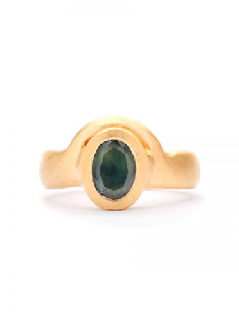 Mountain Meets the Sea Ring - Parti Sapphire