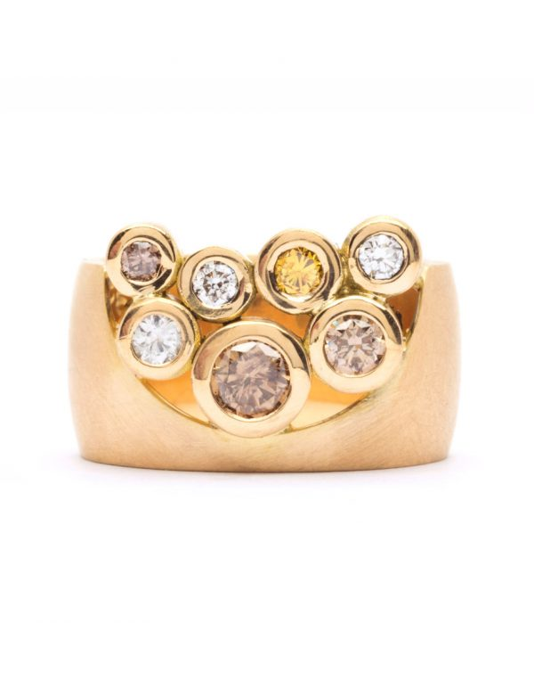 Garden of the Beloved Ring – Champagne & Yellow Diamonds