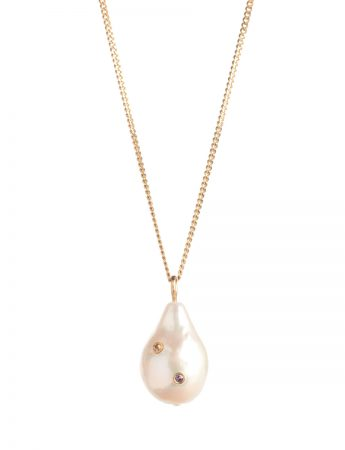 Party Pearl Pendant Necklace